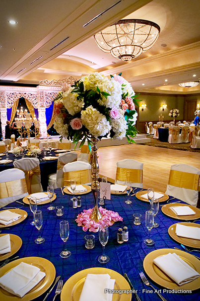 Creative indian Wwedding Reception Decor