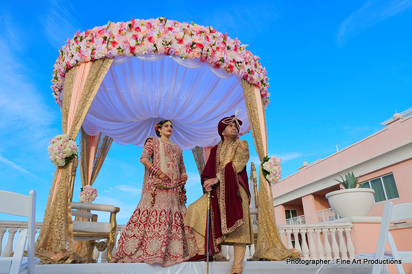 Mandap Decration of indian wedding