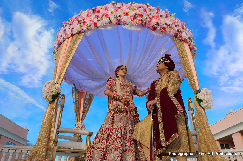 Indian Wedding Ceremony Mandap Decor