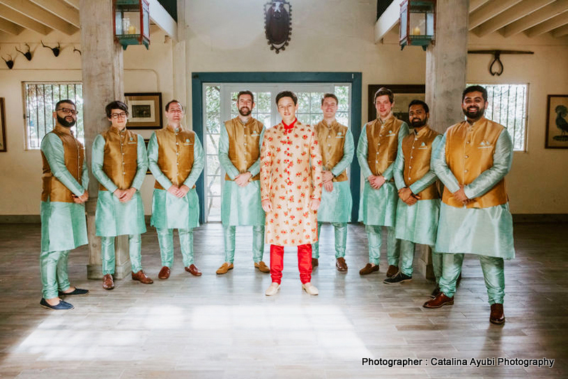 Groom with Groomsman Capture