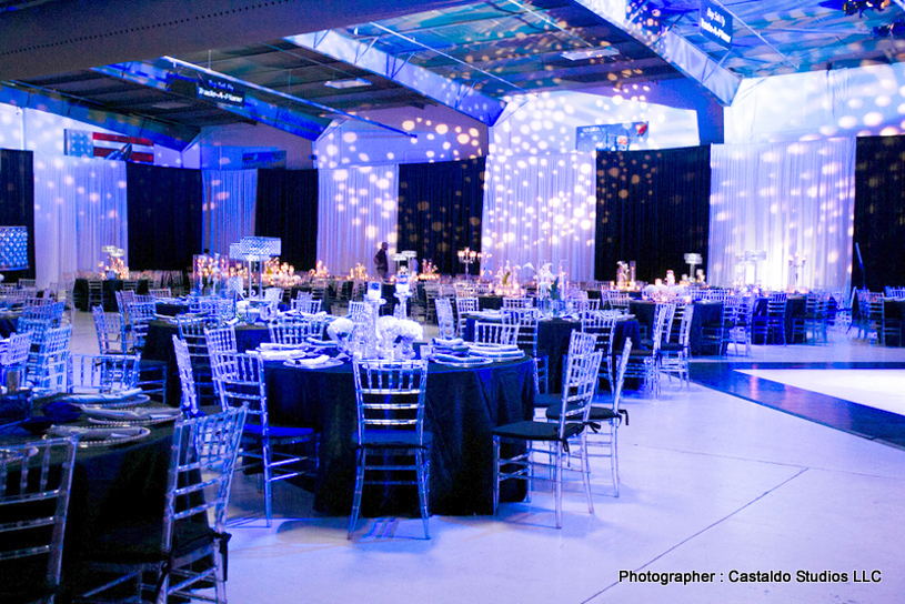 Creative indian Wedding Reception Decor