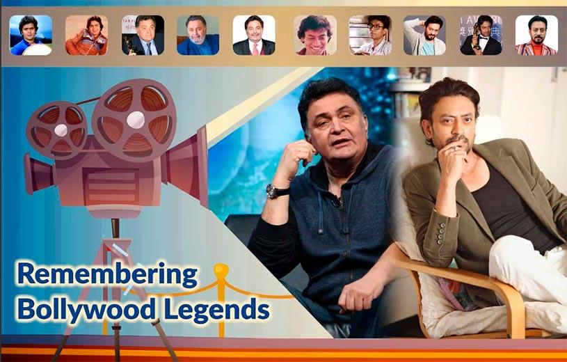 Remembering Bollywood Legends Rishi Kapoor and Irrfan Khan