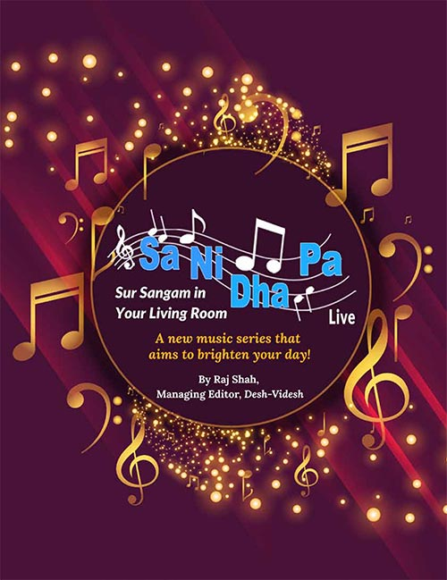 Sa Ni Dha Pa Live - Sur Sangam in Your Living Room: A new music series that aims to brighten your day!