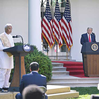BAPS Pujari Recites Vedic Hindu Prayer on National Day of Prayer at the White House