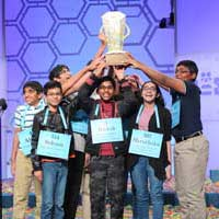 Indian-Americans Dominate the 92nd Scripps National Spelling Bee
