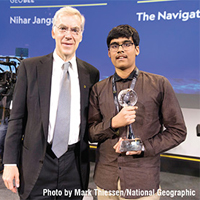 Nihar Janga: 2019 National Geographic GeoBee Champion