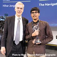 Nihar Janga: 2019 National Geographic GeoBee Champion