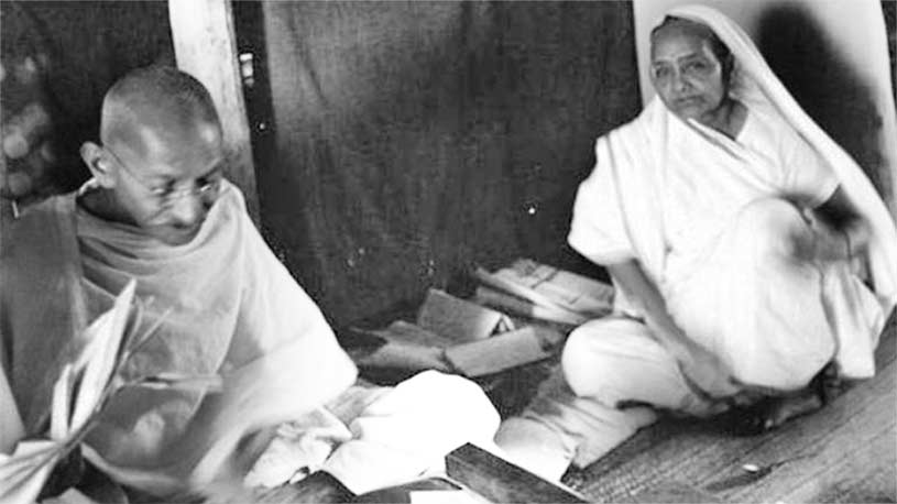 Gandhi's Greatest Guru of Nonviolence: His Wife Kasturba