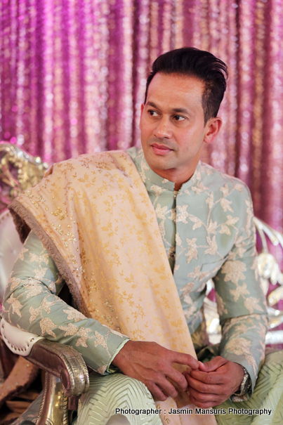 Indian Groom Ready in Wedding attire