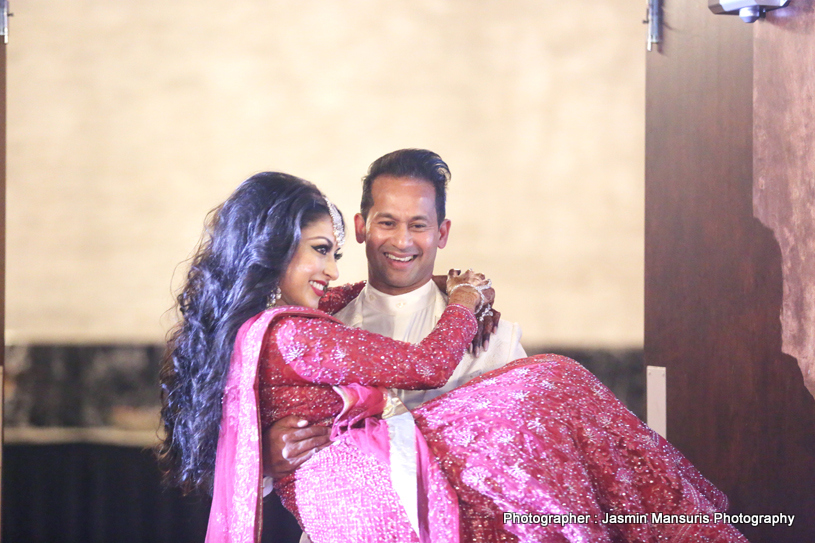 Indian Groom Lift Up Indian Bride