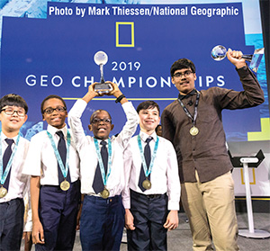 National Geographic GeoBee Champion