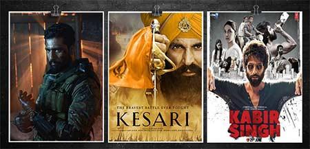Bollywood 2019 Half Yearly - Kabir Singh, Kesari & Uri took the High Note!