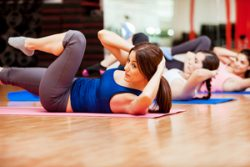 Strong abdominals work to keep your entire body strong