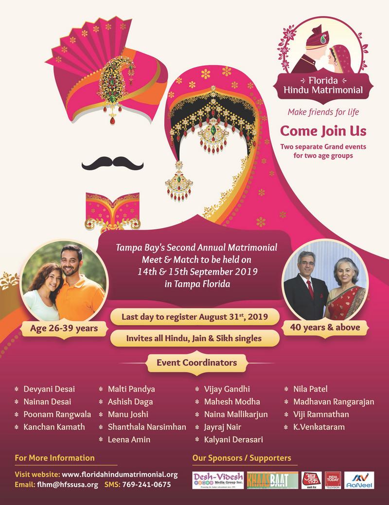 Florida Hindu Matrimonial