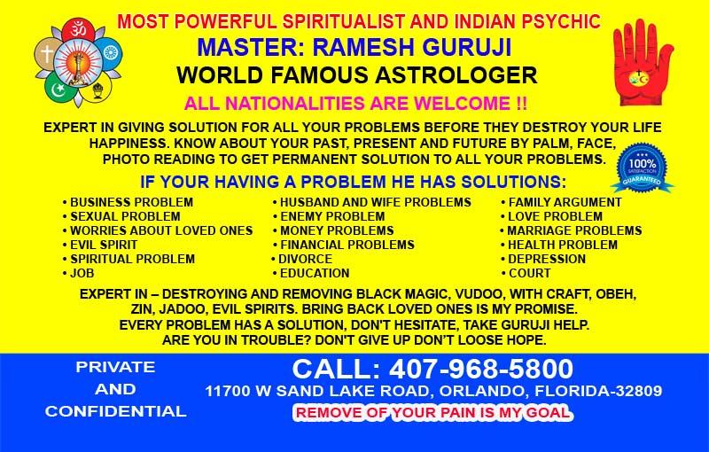 Master Ramesh Guruji Most Powerful Spiritualist and Indian Psychic