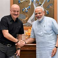 Modi's words the great source of energy: Anupam Kher