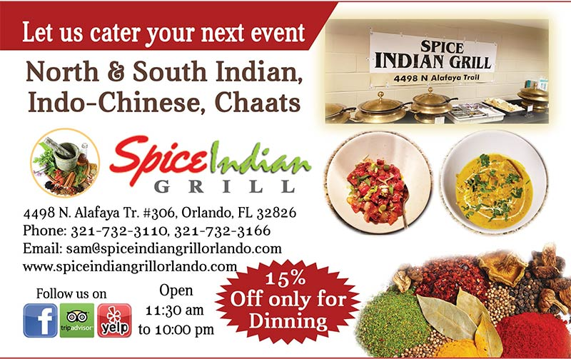 Spice Indian Grill at Orlando