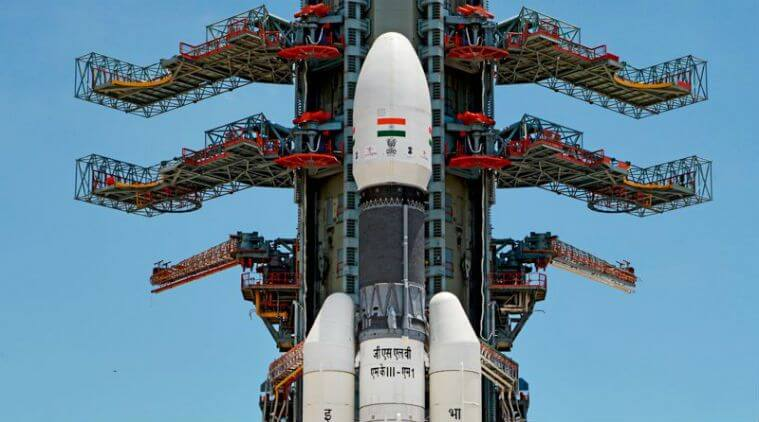 Detailed picture of chandrayaan