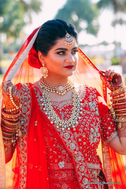 Gorgeous Portrait Capture of Indian Bride