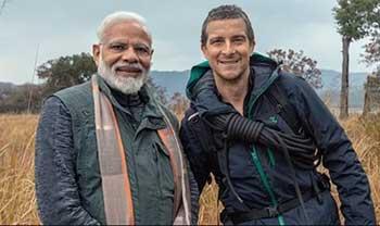 Discovery Promo Of Narendra Modi In Wild Goes Viral