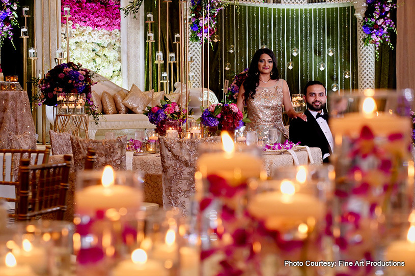 Gorgeous Indian Wedding Decor by Utopian Event Florida