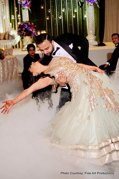 First Dance of Indian Bride and Groom