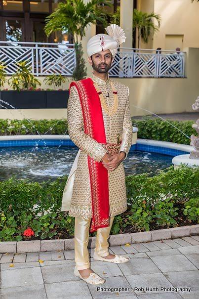 Indian Groom Wedding Attire