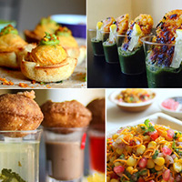 Cool Bite-Size Savory Indian Dishes for your Wedding Menu