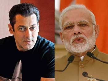 Modi Gives The Salman Twist To His Message