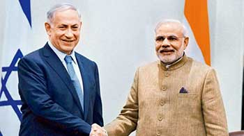 Netanyahu-Modi Bromance Continues At Israel Elections