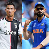 Ronaldo always had a better career than Messi – Kohli