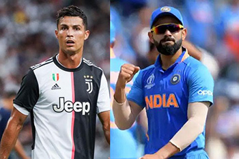 Ronaldo always had a better career than Messi - Kohli