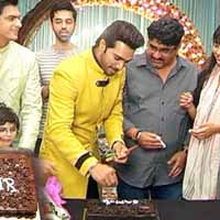 Samir Onkar Celebrates Birthday with YRKKH Team