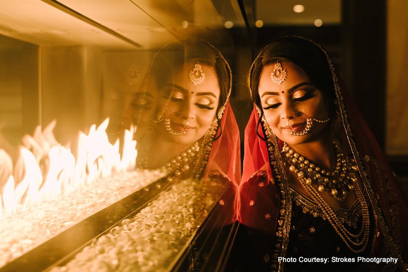 Bride Posing for a photo shoot