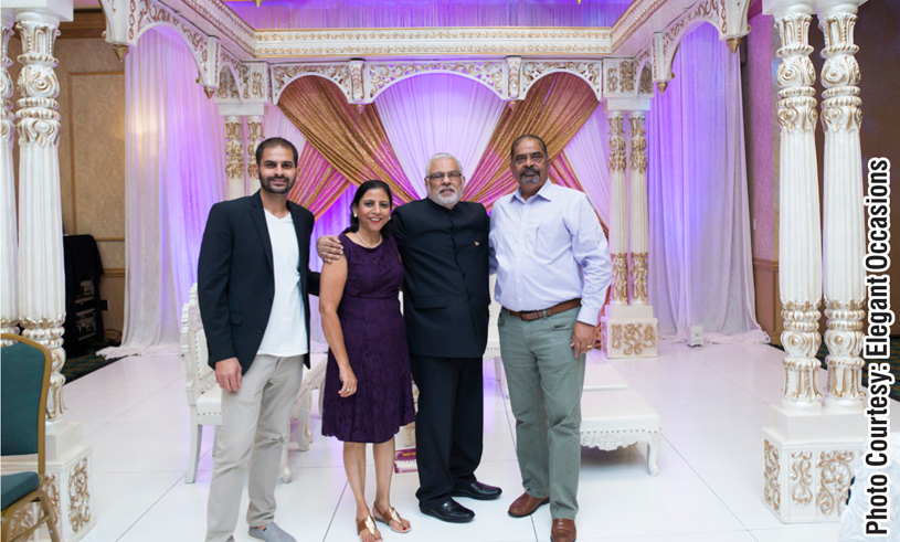 planning a South Asian wedding.