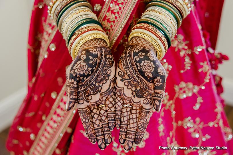Lovely Henna art