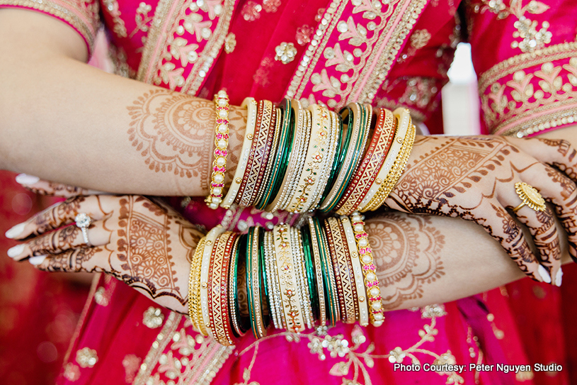 Detailed look of Indian Wedding Jewelry