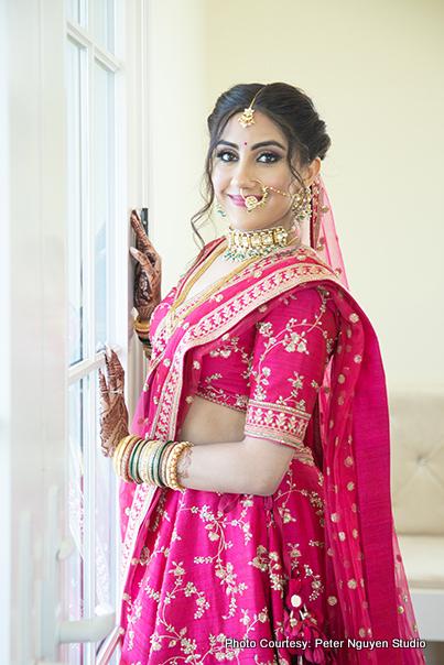 Detailed look of Bridal Makeup