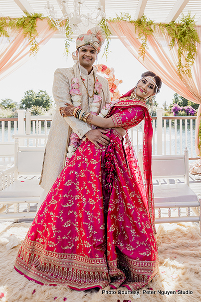 Indian Couple Posing