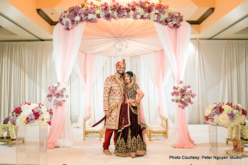 Lovely Indian Wedding Chauri