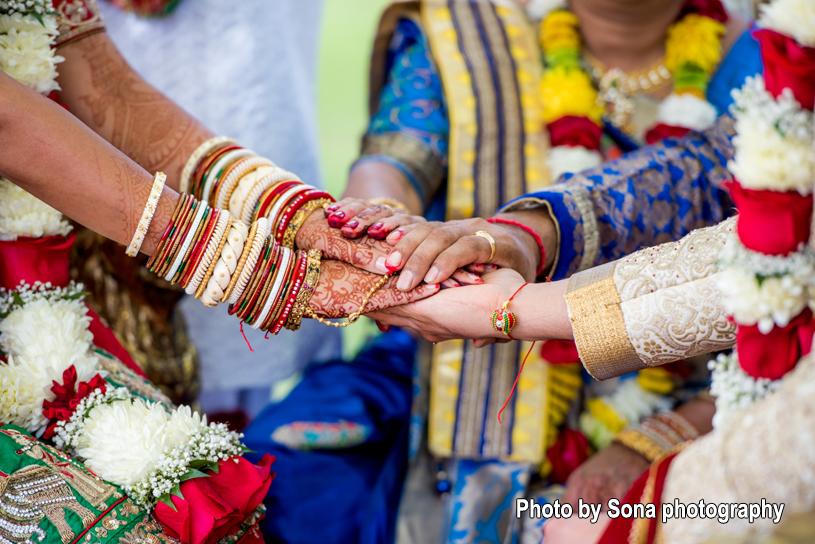 Hast Melap - Indian Wedding rituals