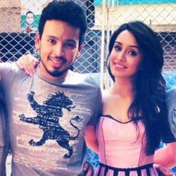 Shraddha Kapoor and Rohan Shrestha