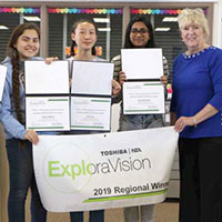 Kainath Kamil Wins ExploraVision K-12 Science Competition