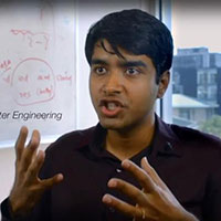 Indian American Swarun Kumar created a new baggage tracking system called PushID