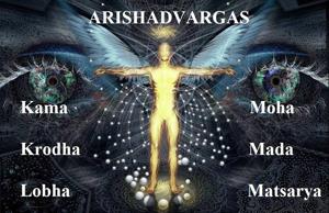Arishadvargas