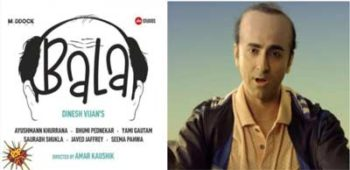 Ayushmann Khurrana stars in Bala a satirical comedy and a hilarious take on male pattern baldness