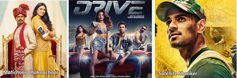 Bala, Motichoor Chaknachoor, Drive & Satellite Shanker Trailers Out