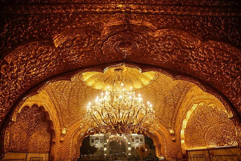 Beautiful Golden Temple in Amritsar Punjab