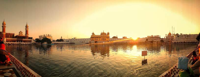 Golden Temple Amritsar Panorama