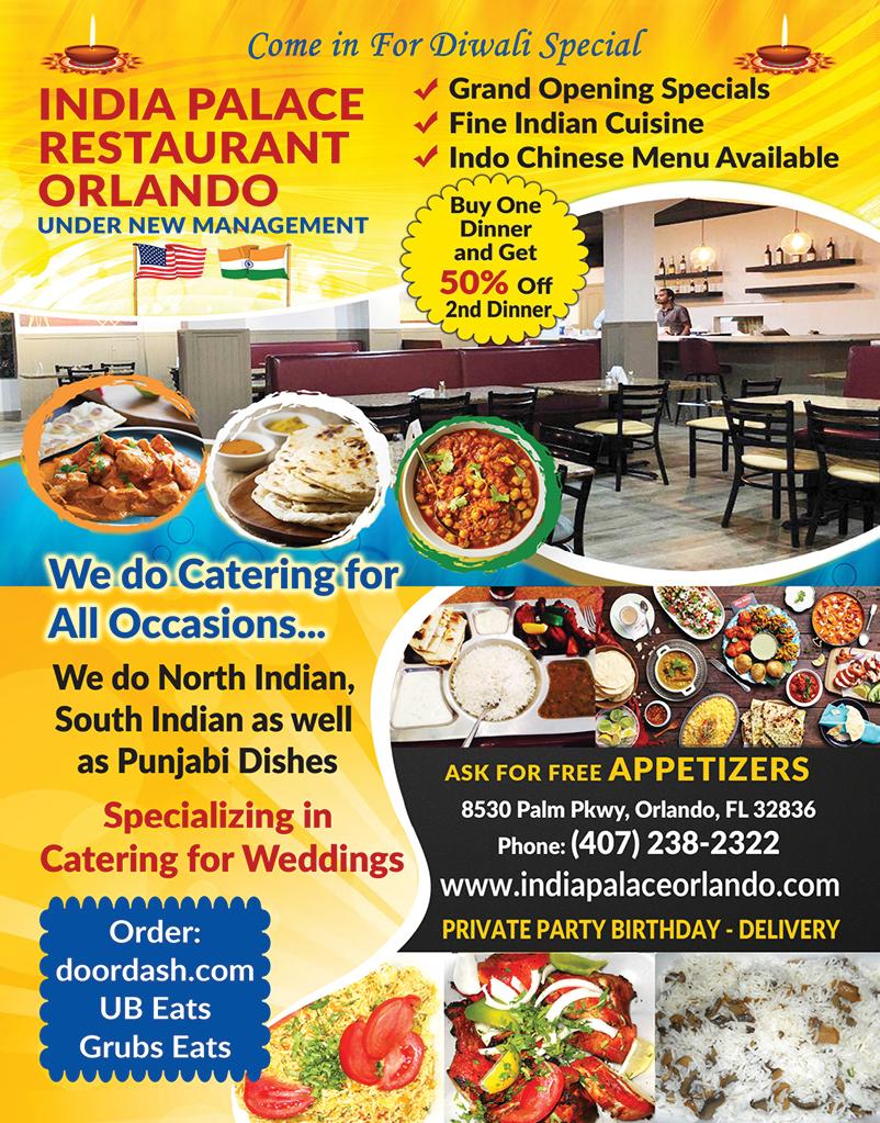 India Palace Restaurant - Orlando